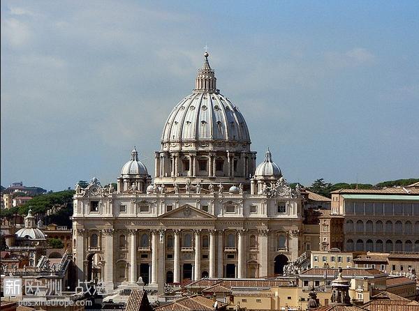 梵蒂冈圣彼得大教堂.png