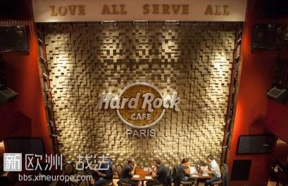 推荐巴黎一家Rock咖啡厅