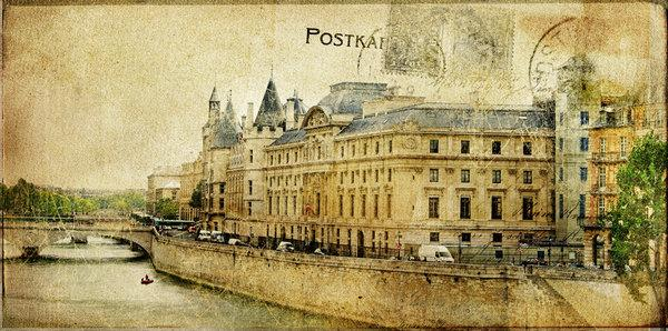 寄一张来自巴黎的明信片