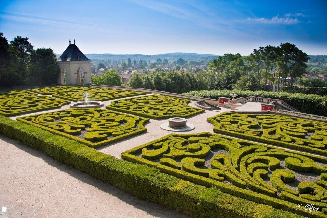 奥维尔城堡花园