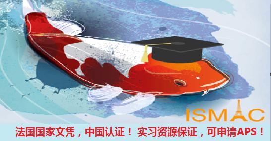 法国中国双认证Master, 实习保证,可申请APS