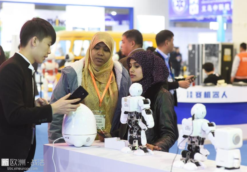 2018年11月29日,中国义乌国际智能装备博览会在浙江义乌举行,吸引了来自国内以及美国、德国、日本、新加坡 ...