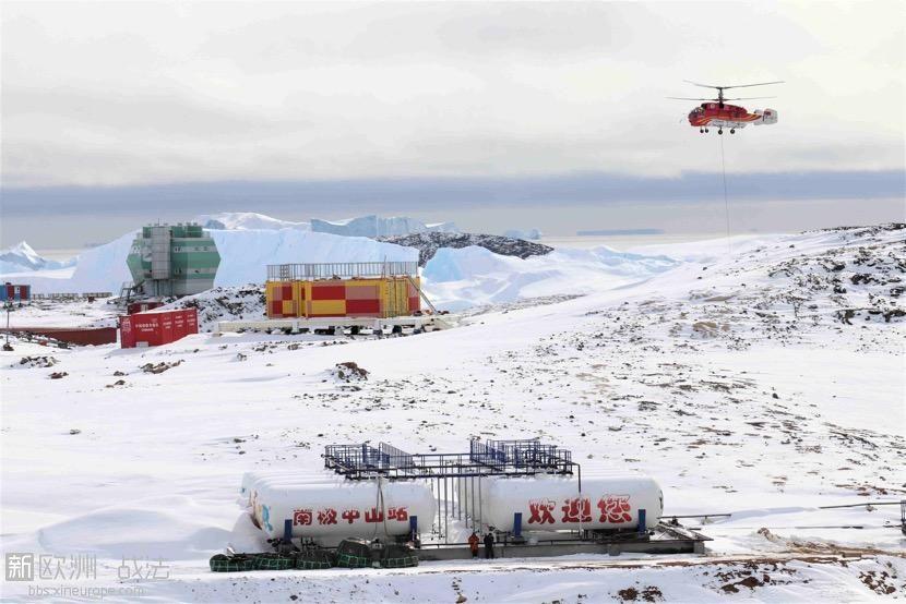 2019年2月9日拍摄的中国南极中山站。 新华社发