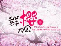 新欧洲【群樱大会】4/22赏樱花活动取消,具体时间日后通知
