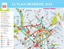 【更新现场大图!】穷游法国 9月1日里尔Braderie节一日游
